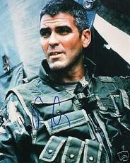 George Clooney autographed Photograph