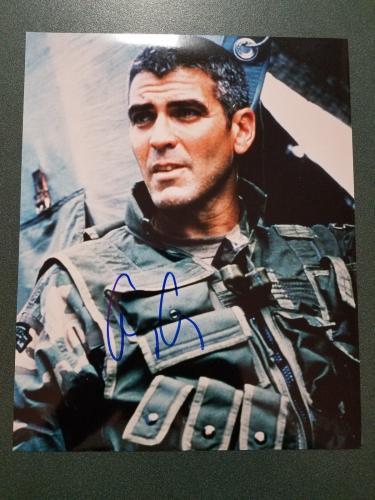 George Clooney autographed Photograph - JSA COA