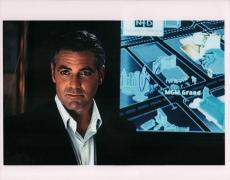 George Clooney Autographed Signed 11x14 Oceans Photo AFTAL