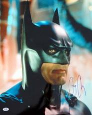 George Clooney Autographed Signed 16x20 Photo Batman PSA/DNA #T14475