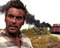George Clooney Autographed Signed 8x10 Oh Brother Photo UACC RD AFTAL COA