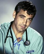 George Clooney Autographed Signed 8x10 Scrubs Photo UACC RD AFTAL COA
