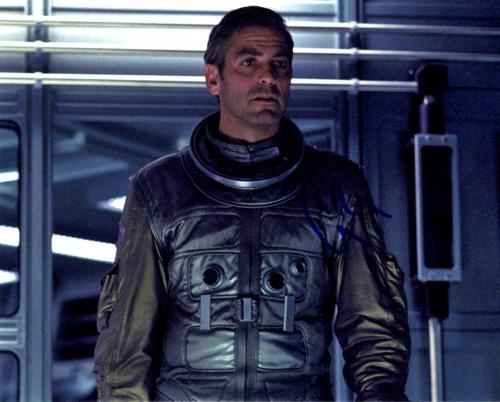 George Clooney Autographed Signed 8x10 Space Photo UACC RD AFTAL COA