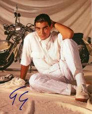 George Clooney Autographed Signed 8x10 Young Photo UACC RD AFTAL COA