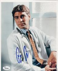 George Clooney autographed signed auto ER 8x10 portrait photo JSA AUTHENTICATION