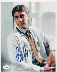 George Clooney autographed signed auto vintage ER 8x10 portrait photo (JSA COA)