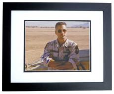 George Clooney Autographed THREE KINGS 8x10 Photo BLACK CUSTOM FRAME