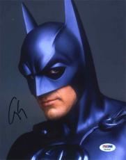 George Clooney Batman Autographed Signed 8x10 Photo Authentic PSA/DNA AFTAL COA!