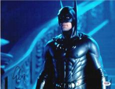 George Clooney Batman & Robin Autographed Signed 11x14 Photo Certified PSA/DNA