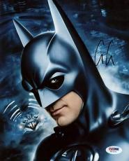 George Clooney Batman Signed 8x10 Photo Autographed Psa/dna #v67271