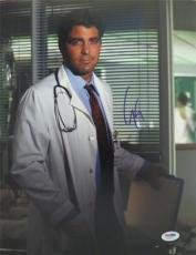 George Clooney Er Signed Authentic  11x14 Photo Psa/dna S19251
