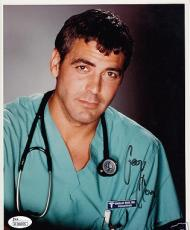 George Clooney FULL NAME autographed signed auto ER 8x10 portrait photo JSA RARE