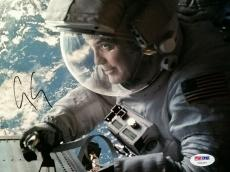 George Clooney Gravity Signed 8x10 Photo PSA/DNA AUTHENTIC