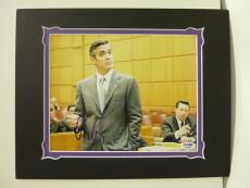 George Clooney Hand Signed Matted 8x10 Photo Psa Coa