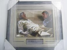 George Clooney Men Who Stare at Goats Signed framed matted 11x14 JSA COA