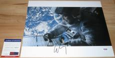 George Clooney Signed 11x14 Gravity Matt Kowalski PSA/DNA