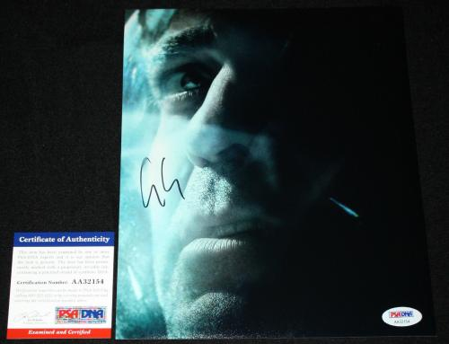 George Clooney signed 8 x 10, Gravity PSA/DNA