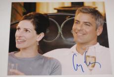 George Clooney Signed 8x10 Photo Autograph Er Batman Syriana Coa G