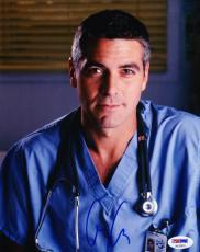 George Clooney Signed 8x10 Photo Autograph Er Batman Syriana Psa/dna Coa A