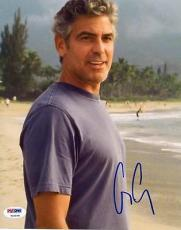 George Clooney Signed 8X10 Photo Autographed PSA/DNA #T23078