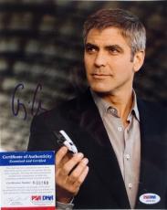 George Clooney Signed 8x10 Photo PSA K69189