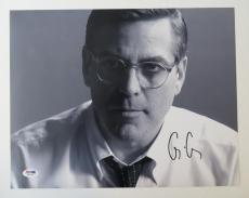 George Clooney Signed Authentic Autographed 11x14 Photo (PSA/DNA) #H86965