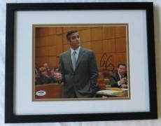George Clooney Signed Authentic Autographed Framed 8x10 Photo (PSA/DNA) #H03845