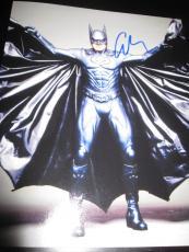GEORGE CLOONEY SIGNED AUTOGRAPH 8x10 PHOTO BATMAN PROMO IN PERSON COA AUTO D4