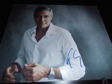 GEORGE CLOONEY SIGNED AUTOGRAPH 8x10 PHOTO GQ PROMO IN PERSON COA AUTO NY RARE
