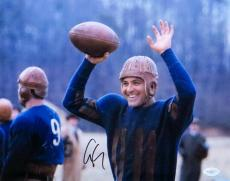 George Clooney Signed Autographed 11X14 Photo Leatherheads Hands Up JSA E65547