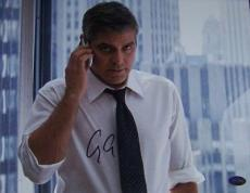 George Clooney Signed Autographed 11x14 Photo PSA COA