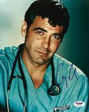 "George Clooney Signed Autographed 8"" x 10"" Photo PSA/DNA Authentic"