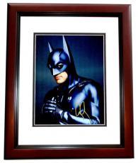 George Clooney Signed - Autographed Batman & Robin 11x14 inch Photo MAHOGANY CUSTOM FRAME - Guaranteed to pass PSA or JSA