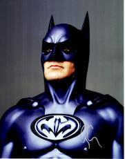 George Clooney Signed - Autographed Batman & Robin 11x14 Photo