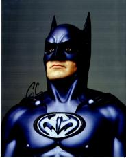 George Clooney Signed - Autographed Batman & Robin 8x10 Photo