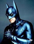 George Clooney Signed Batman Authentic Autographed 11x14 Photo PSA/DNA #V47255