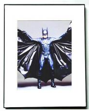 George Clooney Signed Batman Cape Photo Video Proof