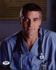 George Clooney Signed ER 8x10 Photo Authentic Autograph PSA/DNA #W25836