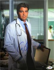 George Clooney Signed ER Authentic Autographed 11x14 Photo (PSA/DNA) #J03192