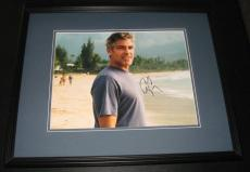 George Clooney Signed Framed 11x14 Photo JSA Perfect Storm Batman ER