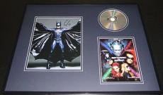 George Clooney Signed Framed 16x20 Batman & Robin Photo & DVD Set AW