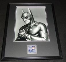 George Clooney Signed Framed 16x20 Photo Poster Display JSA Batman