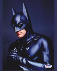 George Clooney SIGNED IN PERSON 8x10 Photo DC Batman PSA/DNA AUTOGRAPHED
