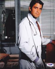 George Clooney SIGNED IN PERSON 8x10 Photo ER Dr. Doug Ross PSA/DNA AUTOGRAPHED
