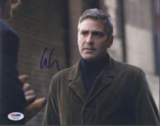George Clooney Signed 'michael Clayton' 8x10 Photo Autograph Psa/dna Coa