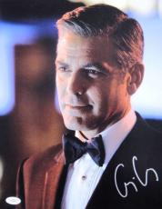 George Clooney Signed OCEANS 12 RARE 11X14 Photo JSA
