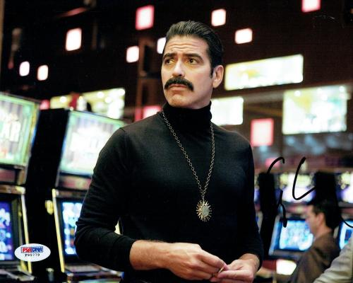 George Clooney Signed Ocean's 13 Authentic 8x10 Photo (PSA/DNA) #F95779