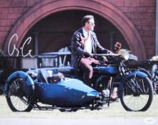 George Clooney Signed RARE Leatherheads 11X14 Photo JSA