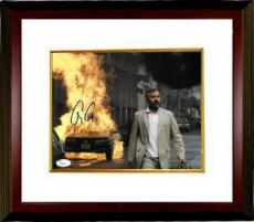 George Clooney signed Syriana 8x10 Photo Custom Framed- JSA Hologram #T40864 (horizontal)
