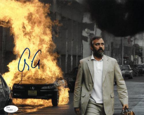 George Clooney signed Syriana 8x10 Photo- JSA Hologram #T40864 (horizontal)